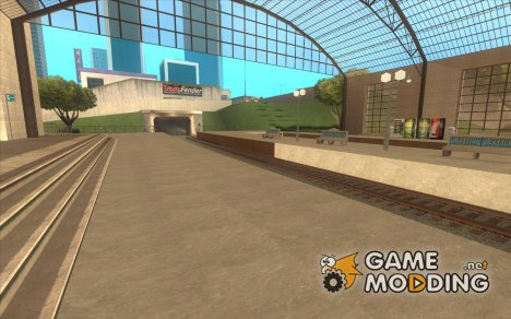 Высокие платформы на ж/д станциях для GTA San Andreas