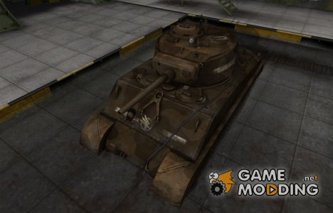 Скин в стиле C&C GDI для M4A3E2 Sherman Jumbo for World of Tanks