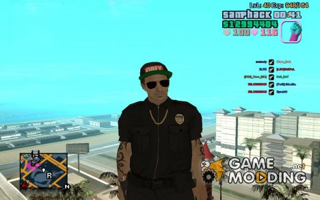C-HUD GTA Vice City edited SampHack for GTA San Andreas