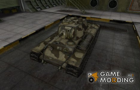 Пустынный скин для Т-150 для World of Tanks