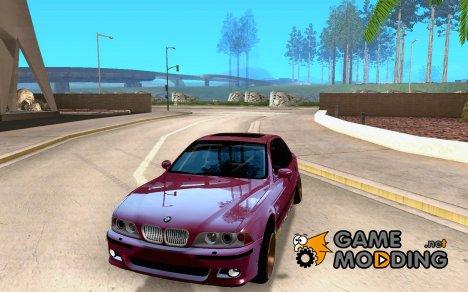 BMW M5 street for GTA San Andreas