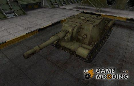 Шкурка для ИСУ-152 в расскраске 4БО для World of Tanks
