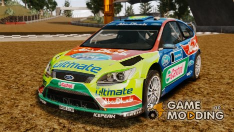 Ford Focus RS WRC for GTA 4