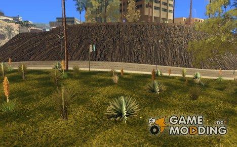 Новые текстуры для Горы Санта Мария for GTA San Andreas
