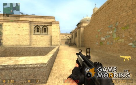 Mp5 Uv для Counter-Strike Source