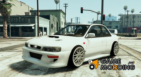 Subaru Impreza 22B Street Stanced for GTA 5