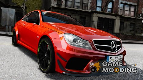 Mercedes-Benz C63 AMG 2012 for GTA 4