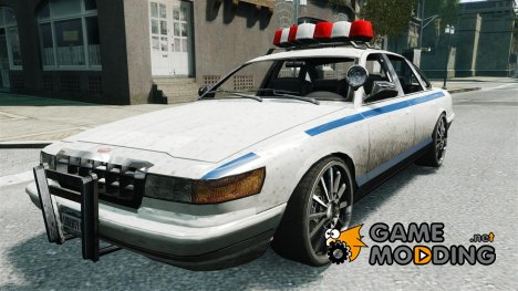 Police на 20-ти  дюймовых дисках for GTA 4