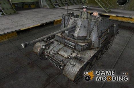 Модифицированный Marder II для World of Tanks