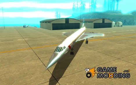 Concorde [FINAL VERSION] for GTA San Andreas
