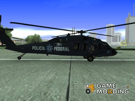 heli police federal for GTA San Andreas
