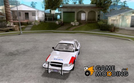 Ford Crown Victoria Police Patrol для GTA San Andreas