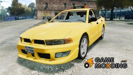 Mitsubishi Galant '86 Taxi для GTA 4