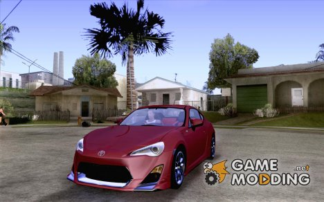 Toyota 86 TRDPerformanceLine 2012 для GTA San Andreas