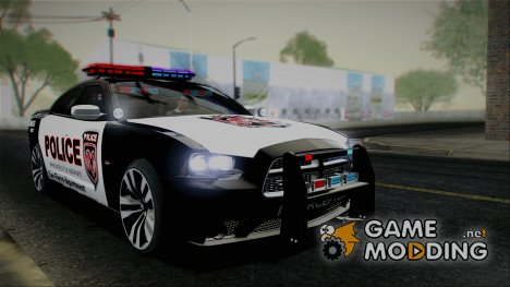 2012 Dodge Charger SRT8 Police interceptor SFPD для GTA San Andreas