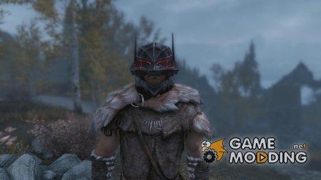 Berserker Wolf Helmet for TES V Skyrim