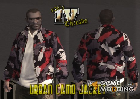 Urban Camo Jacket for GTA 4
