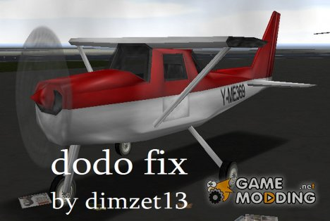 Dodo fix for GTA 3