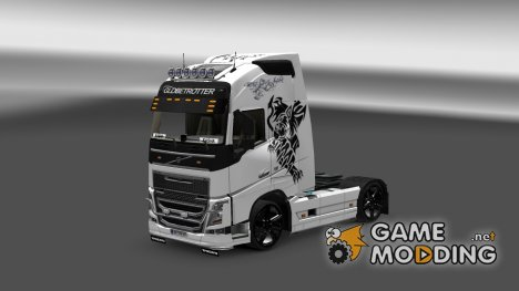 Skin Volvo FH 2012 Wolf for Euro Truck Simulator 2
