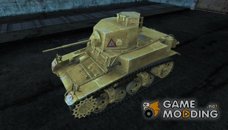 Шкурка для M3 Stuart для World of Tanks