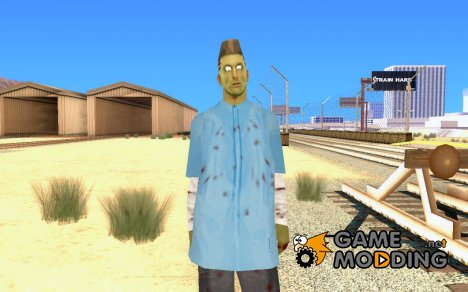 Zombie Skin - wmybar for GTA San Andreas