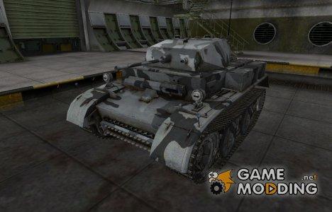 Шкурка для немецкого танка PzKpfw II Luchs для World of Tanks