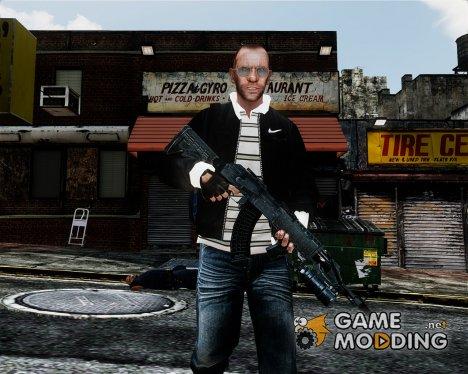 MW3 AK47 Grenade Launcher for GTA 4