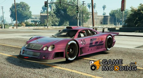 Mercedes CLK LM 1998 Super Race Car для GTA 5