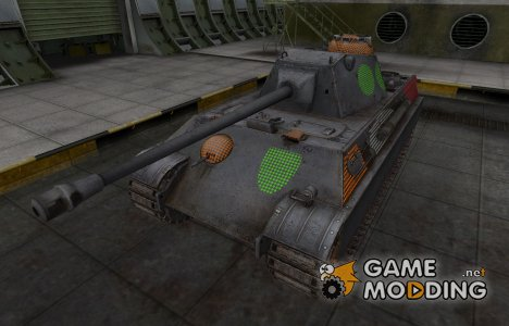 Зона пробития Panther II for World of Tanks