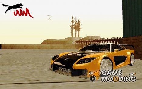 Mazda RX-7 Veilside TOKYO Drift for GTA San Andreas