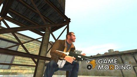 Пистолет-пулемёт UMP45 v.2 for GTA 4