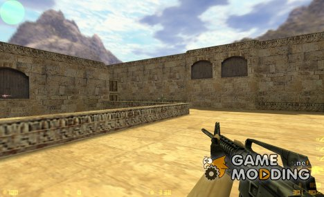 VALVe's High Polygon M4A1 for Counter-Strike 1.6
