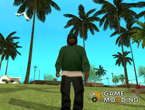 Бандит Grove st. с Beta San-Andreas. (fam1) для GTA San Andreas