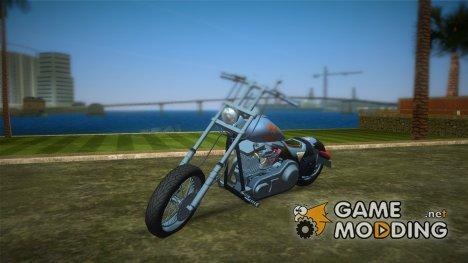 Harley-Davidson Black Death для GTA Vice City