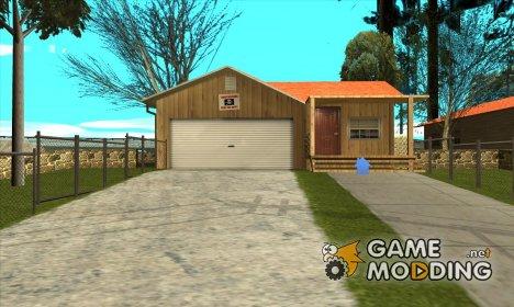 Новый дом Сиджея в Паломино Крик + новые двери. for GTA San Andreas
