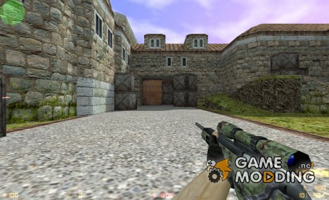 Scout Woodland Camo Retexture for Counter-Strike 1.6