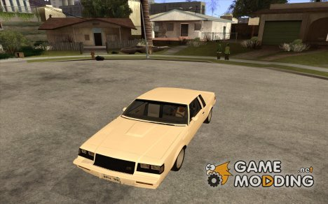 Buick Regal Grand National GNX для GTA San Andreas