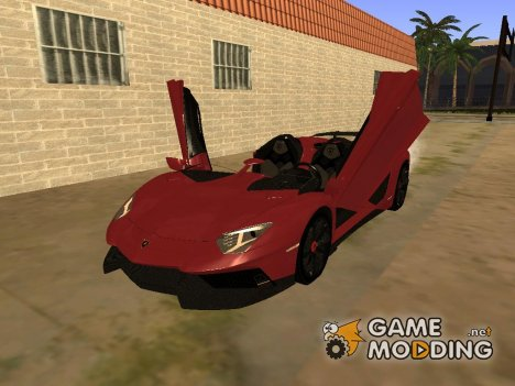 Lamborghini Aventador J 2012 v1.0 для GTA San Andreas