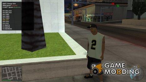 Скины банд из GTA 5 для GTA San Andreas