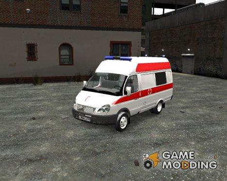 ГАЗель Скорая Помощь для GTA 4