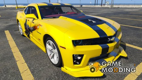2012 Chevrolet Camaro ZL1 Racing for GTA 5