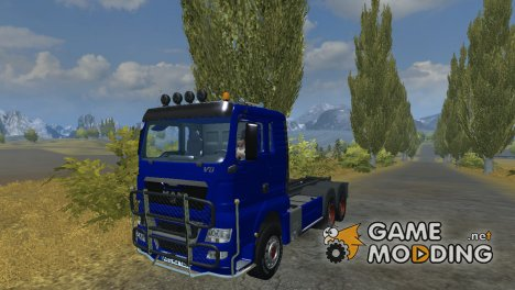 MAN TGX HKL with container v 5.0 Rost для Farming Simulator 2013