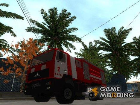 МАЗ 5440 Пожарный для GTA San Andreas