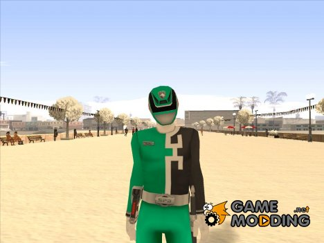 Power Rangers RPM Green для GTA San Andreas
