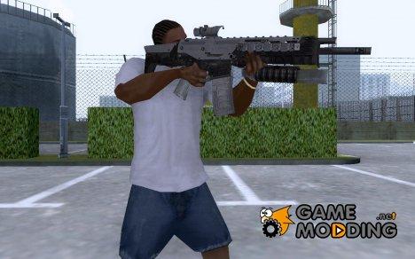 ACR с подствольным гранатометом и прицелом for GTA San Andreas