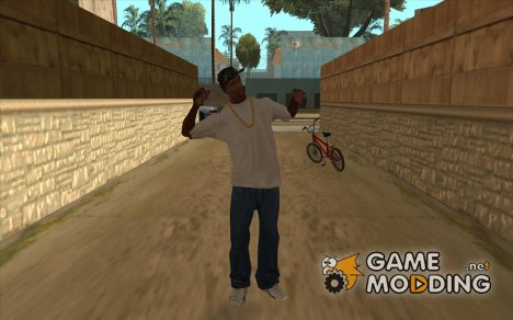 """Анимация """"Зачитывание репа"""" for GTA San Andreas"""