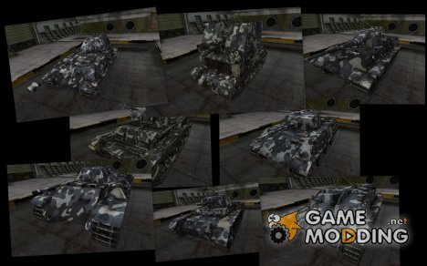 Камуфляж для немецких танков для World of Tanks