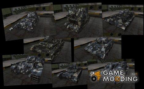 Камуфляж для немецких танков for World of Tanks