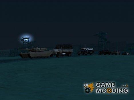 Срочная эвакуация базы for GTA San Andreas