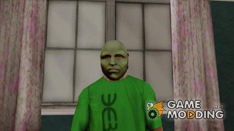 Театральная маска v2 (GTA Online) для GTA San Andreas